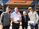 Clarkson does the McLaren tour in Australia