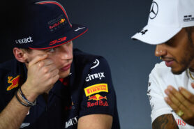 Verstappen's father thinks Hamilton is rattled
