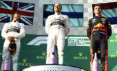 Top 3 2019 Australian F1 GP: 1. Bottas, 2. Hamilton & 3. Verstappen