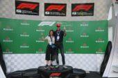 Get a F1 podium photo