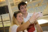 Selfie with Charles Leclerc