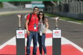 Starting Grid Trophy Photo