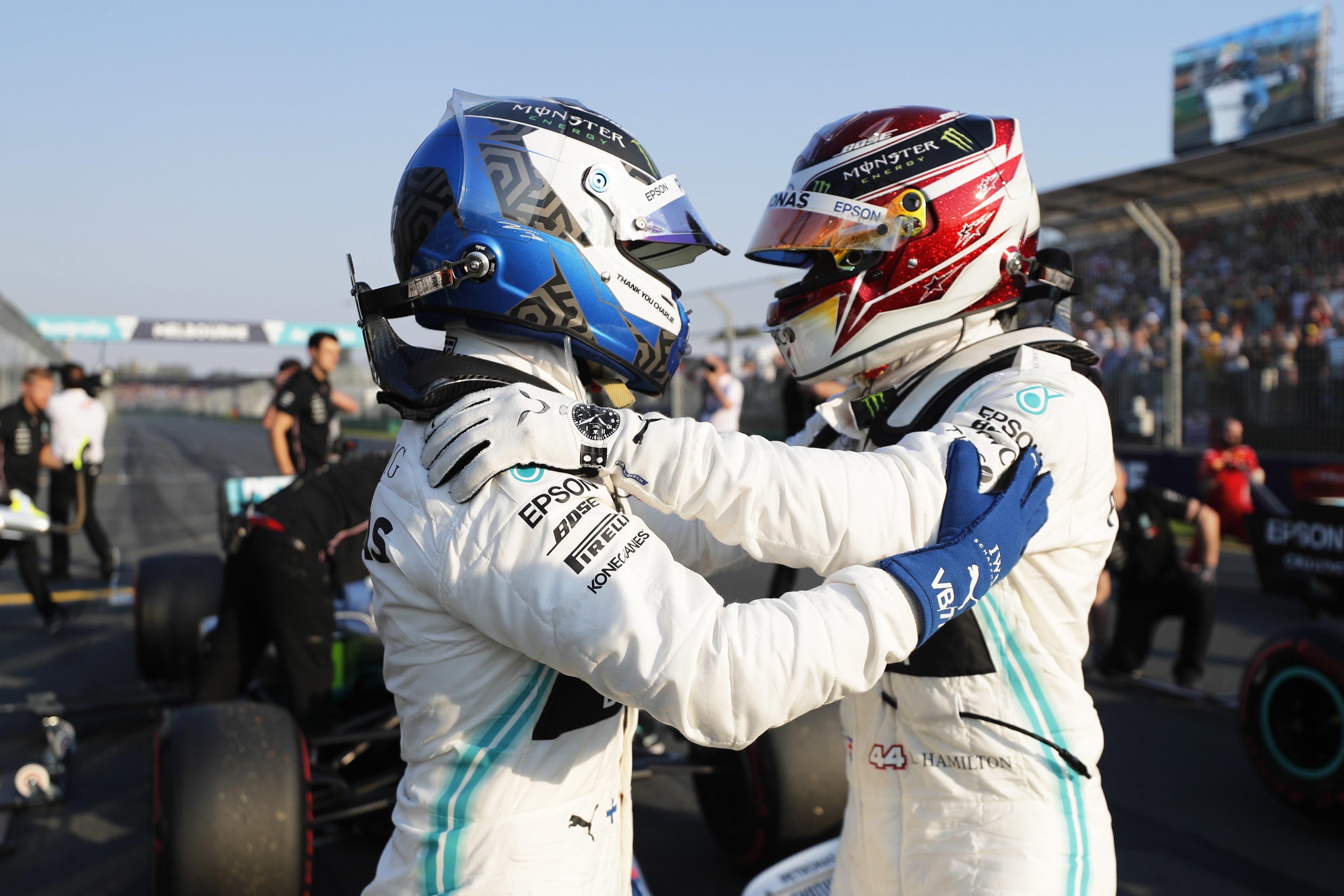 Hamilton says new engineer boosting Bottas