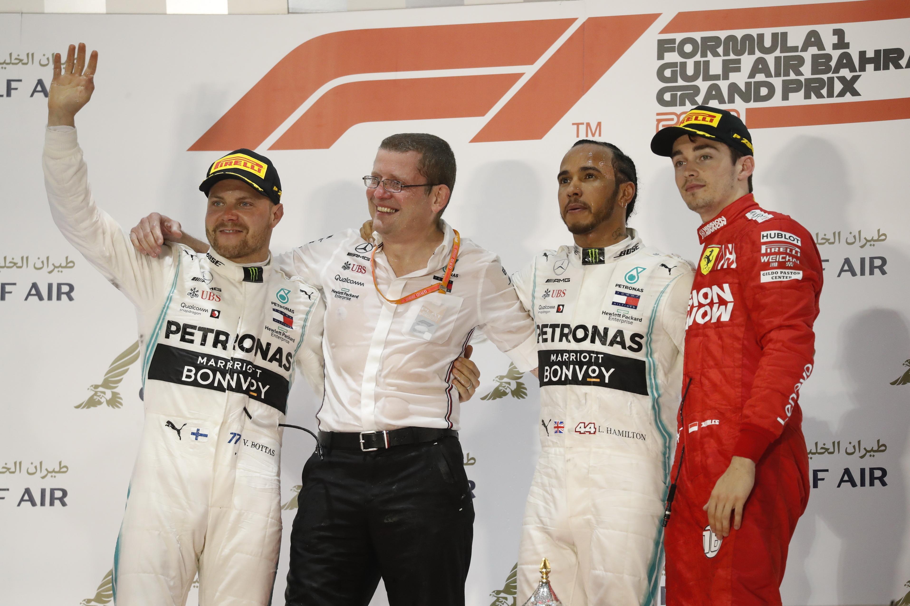 Race Results 2019 Bahrain F1 Grand Prix