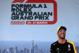 Daniel Ricciardo (AUS) Renault F1 Team on the Fan Zone stage. Australian Grand Prix, Saturday 16th March 2019. Albert Park, Melbourne, Australia.