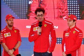 Gene: Binotto era eases pressure on Ferrari
