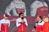 Vasseur wants 'podiums' for Alfa Romeo