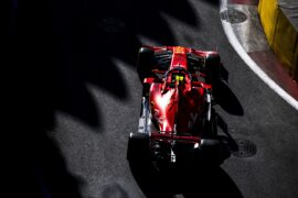 Leclerc thinks road to F1 title 'long'