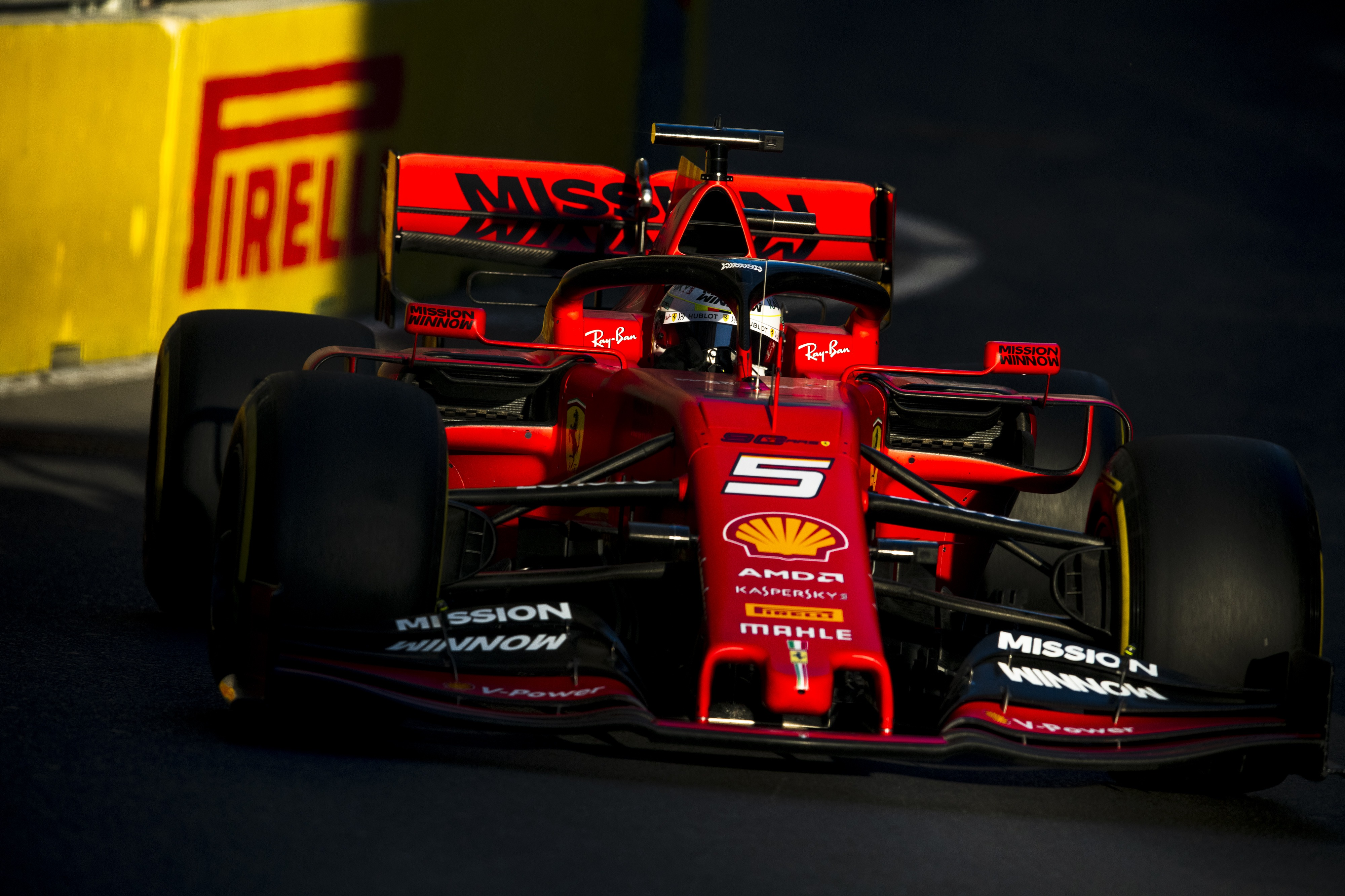 Vettel Mercedes