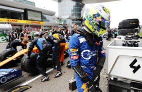 Lando Norris, McLaren, on the grid Chinese GP F1/2019