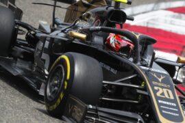 Magnussen to drive 'old' Haas in practice