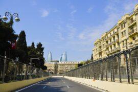 Lap times 1st free practice 2019 Azerbaijan F1 GP