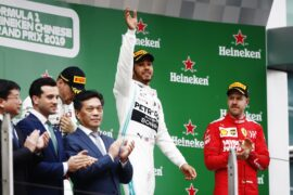 Chinese Grand Prix F1 Race Results
