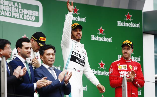 Lewis Hamilton Mercedes does it again! Chinese GP F1/2019
