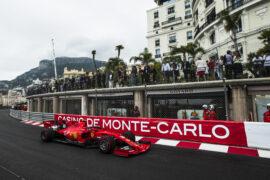 Lap times 3rd free practice 2019 Monaco F1 GP