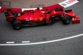 Vettel denies Ferrari suspension problem