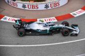Formula One - Mercedes-AMG Petronas Motorsport, Monaco GP 2019. Valtteri Bottas