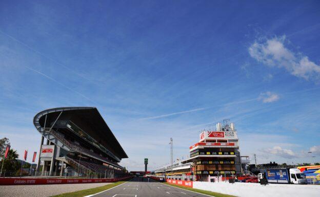 Lap times 1st free practice 2019 Spanish F1 GP