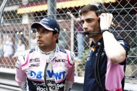 Perez leaves Racing Point at the end of 2020
