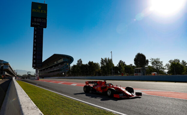 Results 1st day in-season testing in Spain