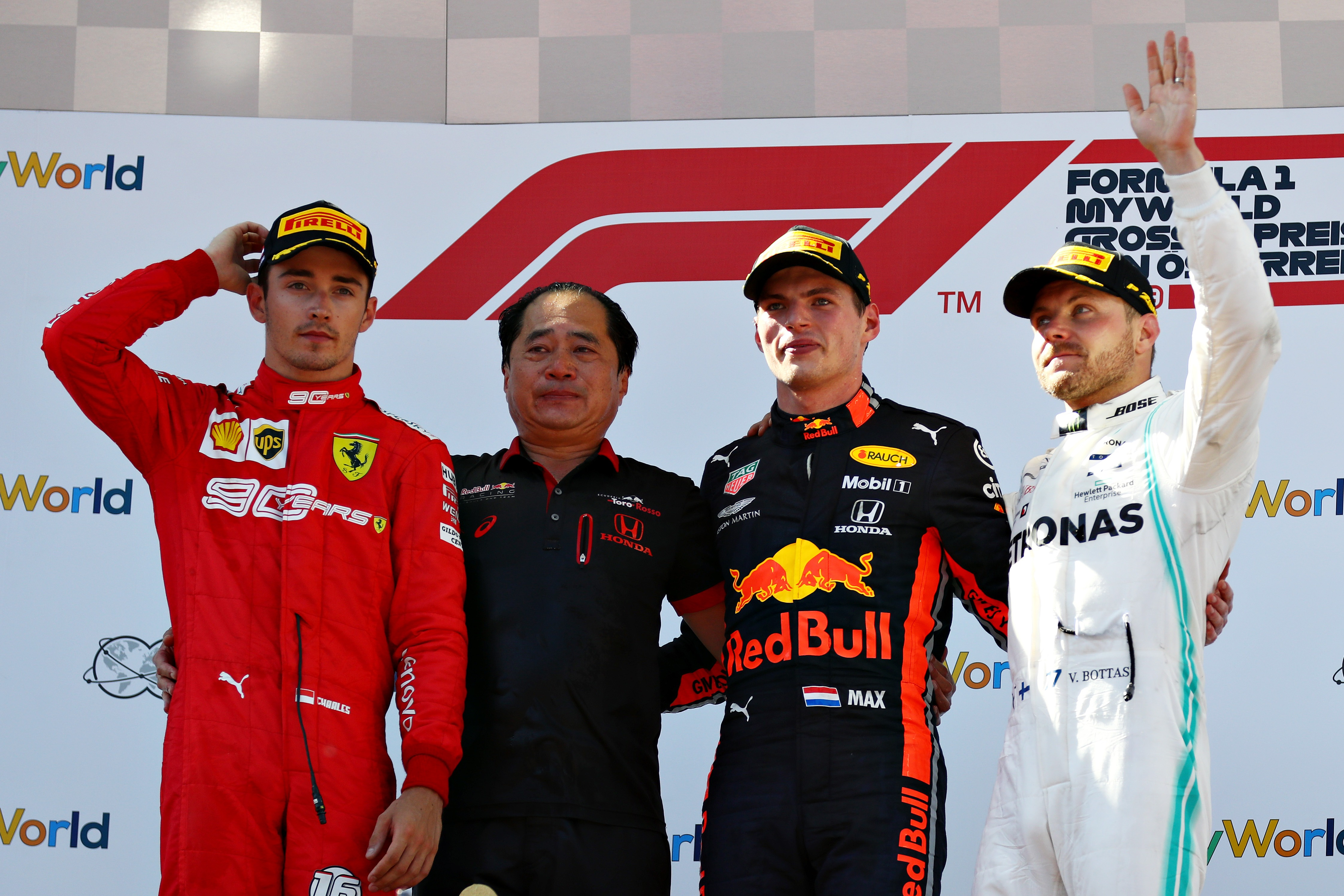 Race Results 2019 Austrian F1 Grand Prix
