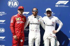 Starting Grid 2019 French F1 GP