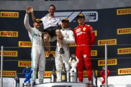 2019 French Grand Prix F1 Race Results