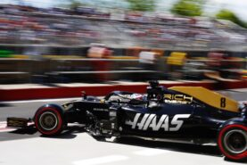 Romain Grosjean Haas Canadian GP F1/2019