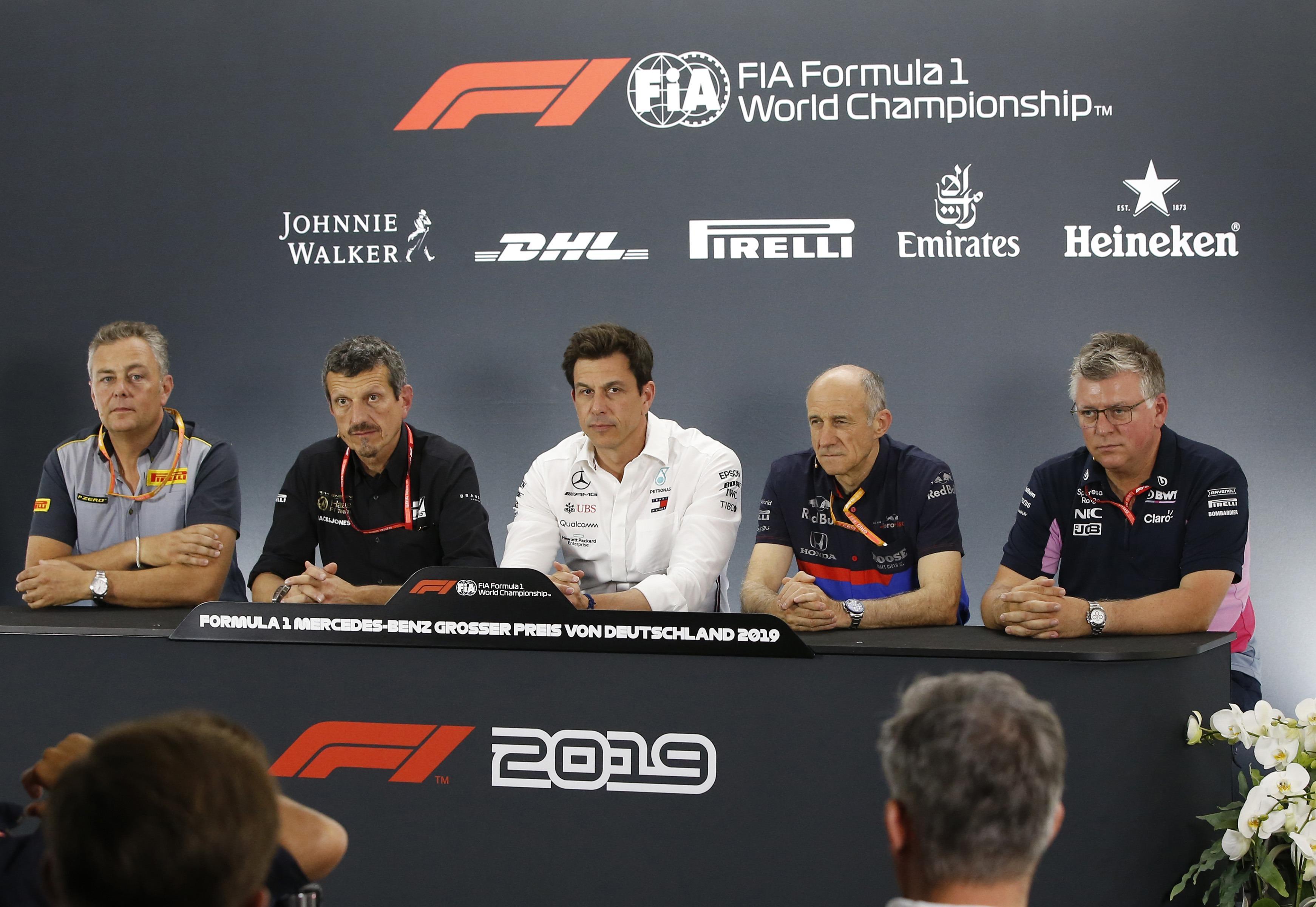 Constructors Press Conference 2019 German F1 GP
