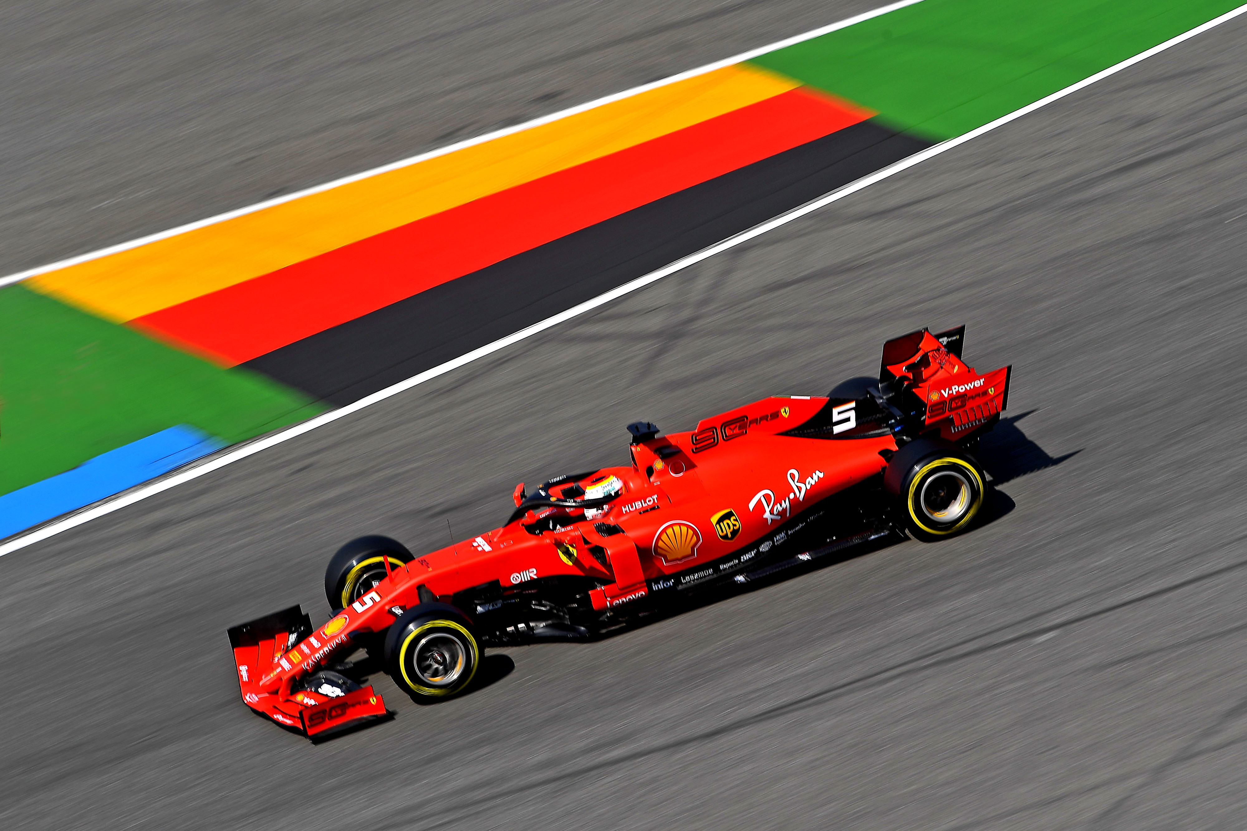 Lap Times 3rd Free Practice 2019 German F1 GP