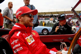 Vettel wants F1 to 'double the cylinders'