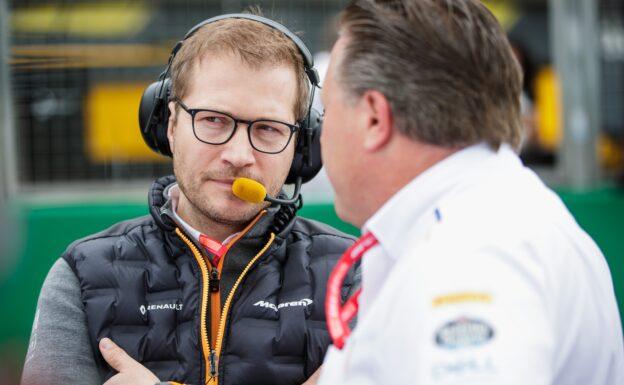 Boss says McLaren 'definitely' not writing off 2020