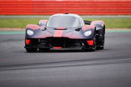 The Aston Martin Valkyrie is ALIVE! First Onboard Footage & Noise recordings!