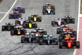 Animated Timelapse 2019 Austrian F1 Grand Prix
