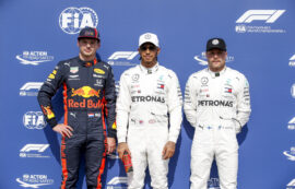 Starting Grid 2019 German F1 GP
