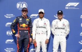 Starting Grid 2019 German F1 GP