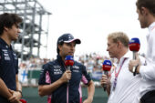 Perez welcomes new gravel at Silverstone