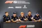 Thursday Drivers Press Conference 2019 Belgian F1 GP