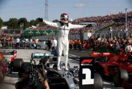2019 Hungarian Grand Prix F1 Race Results