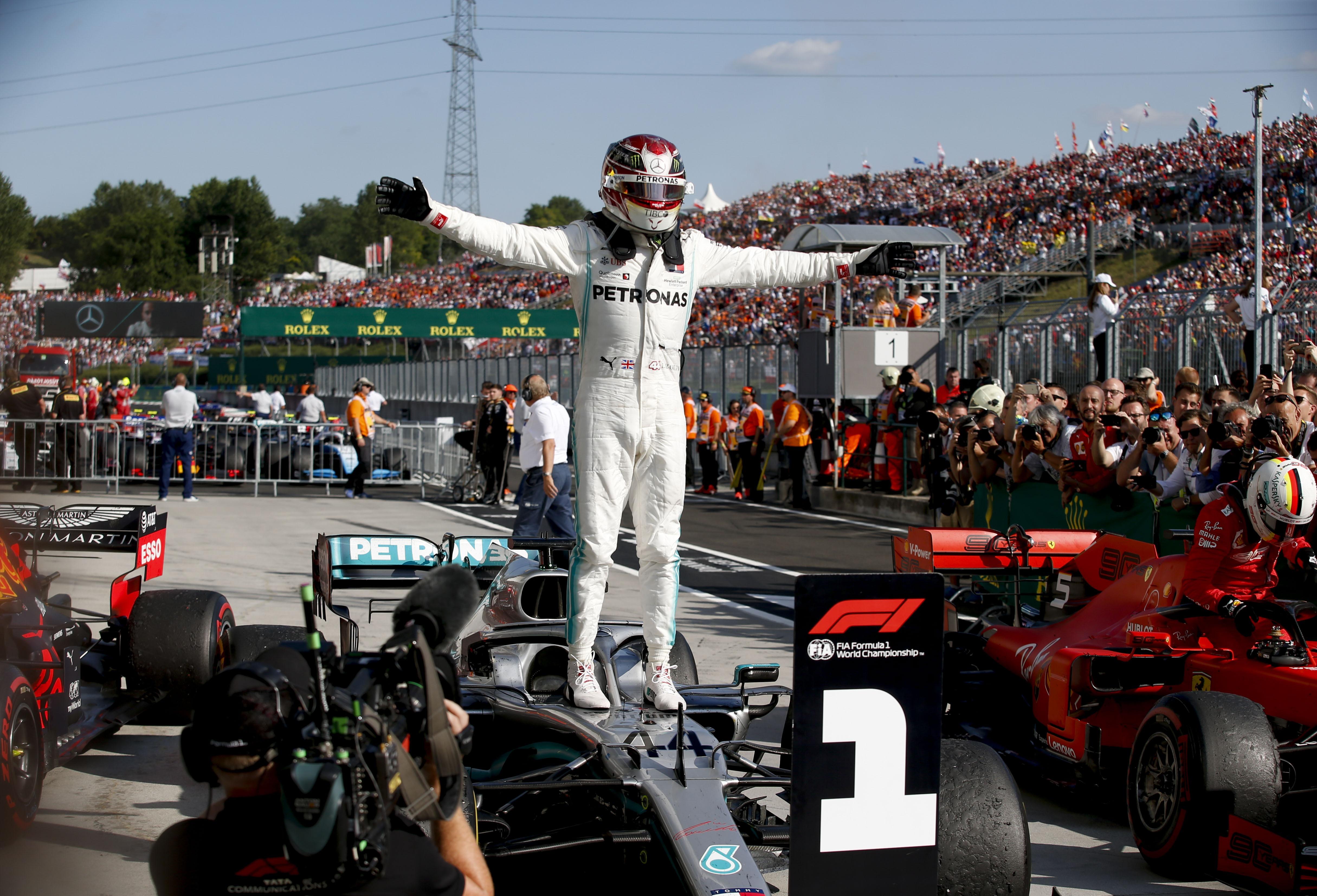 Race Results 2019 Hungarian F1 Grand Prix
