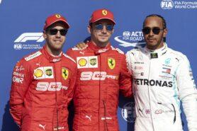 Starting Grid 2019 Belgian F1 GP