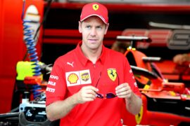 Vettel not thinking about 2021 contract