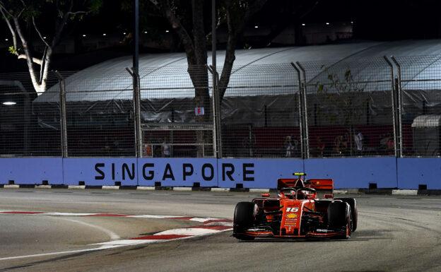 Qualifying Results 2019 Singapore F1 Grand Prix
