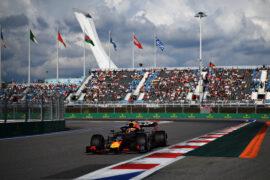 Verstappen's simulator lap on Sochi circuit