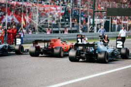 Starting Grid 2019 Italian F1 GP