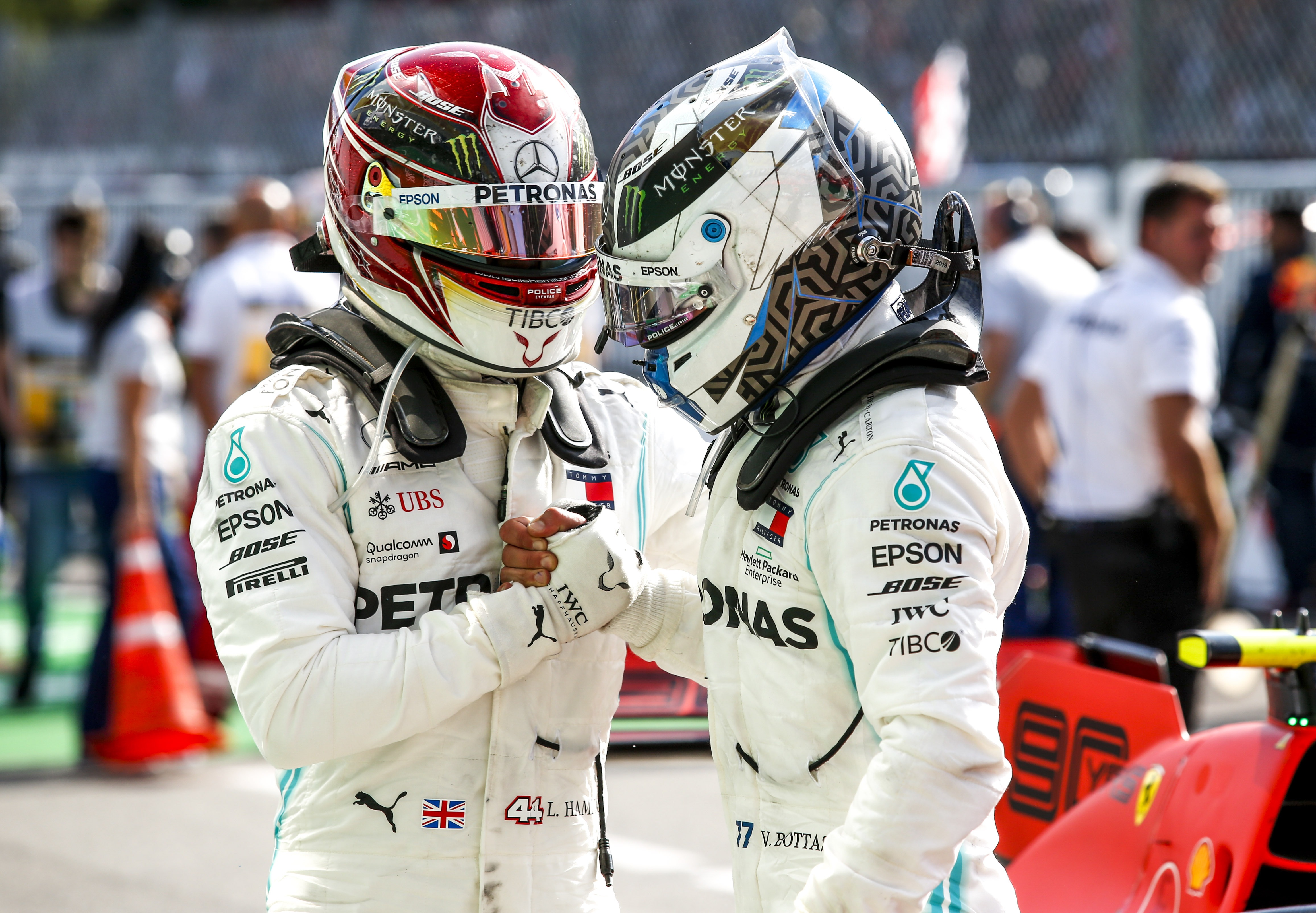 Hamilton: Engineer switch helped Bottas in 2019