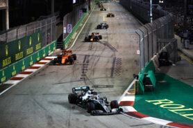 Lewis Hamilton Calls Singapore Circuit 'Boring'