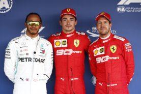 Leclerc 'happy' if Ferrari keeps Vettel
