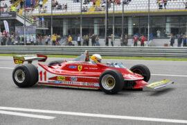 Jody Scheckter - Ferrari World Champion at Monza