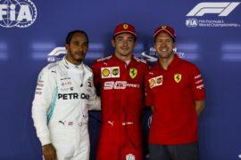 starting grid 2019 Singapore F1 Grand Prix